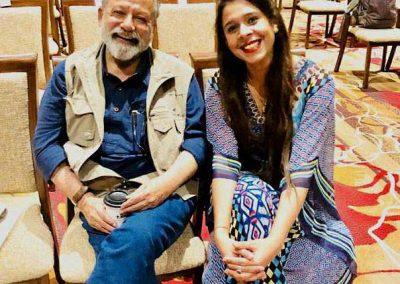 Pankaj Kapoor with Aditi Chauhan